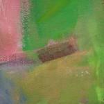 Jon Rowland, Green Abstract Art 6