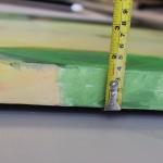 Jon Rowland, Green Abstract Art 9