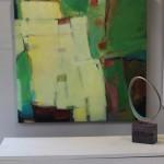 Jon Rowland, Green Abstract Art