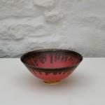 Peter wills matte oink ceramic bowl wychwood art
