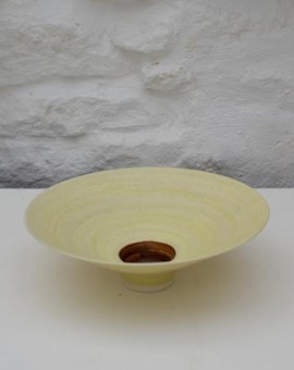 Peter wills pale yellow bowl wychwood art