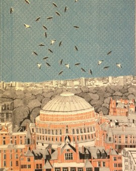 Clare Halifax Rooftops at Royal Albert Hall Wychwood art