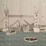 Clare Halifax Tower Bridge Wychwood art