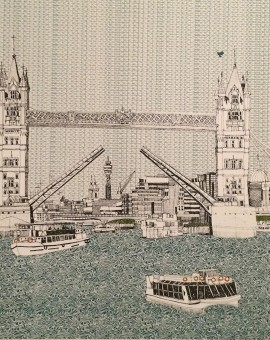 Clare Halifax Tower Bridge Wychwood art