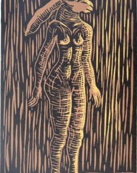 Sophie-Ryder-Standing-Lady-Hare-Wycwhood-art