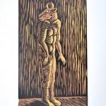 Sophie Ryder Standing Minotaur Wychwood art
