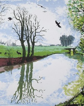 Tim Southall, On the Tow Path, Wychwood art