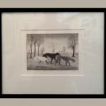 Tim Southall, Strolling Hounds 2, Wychwood art