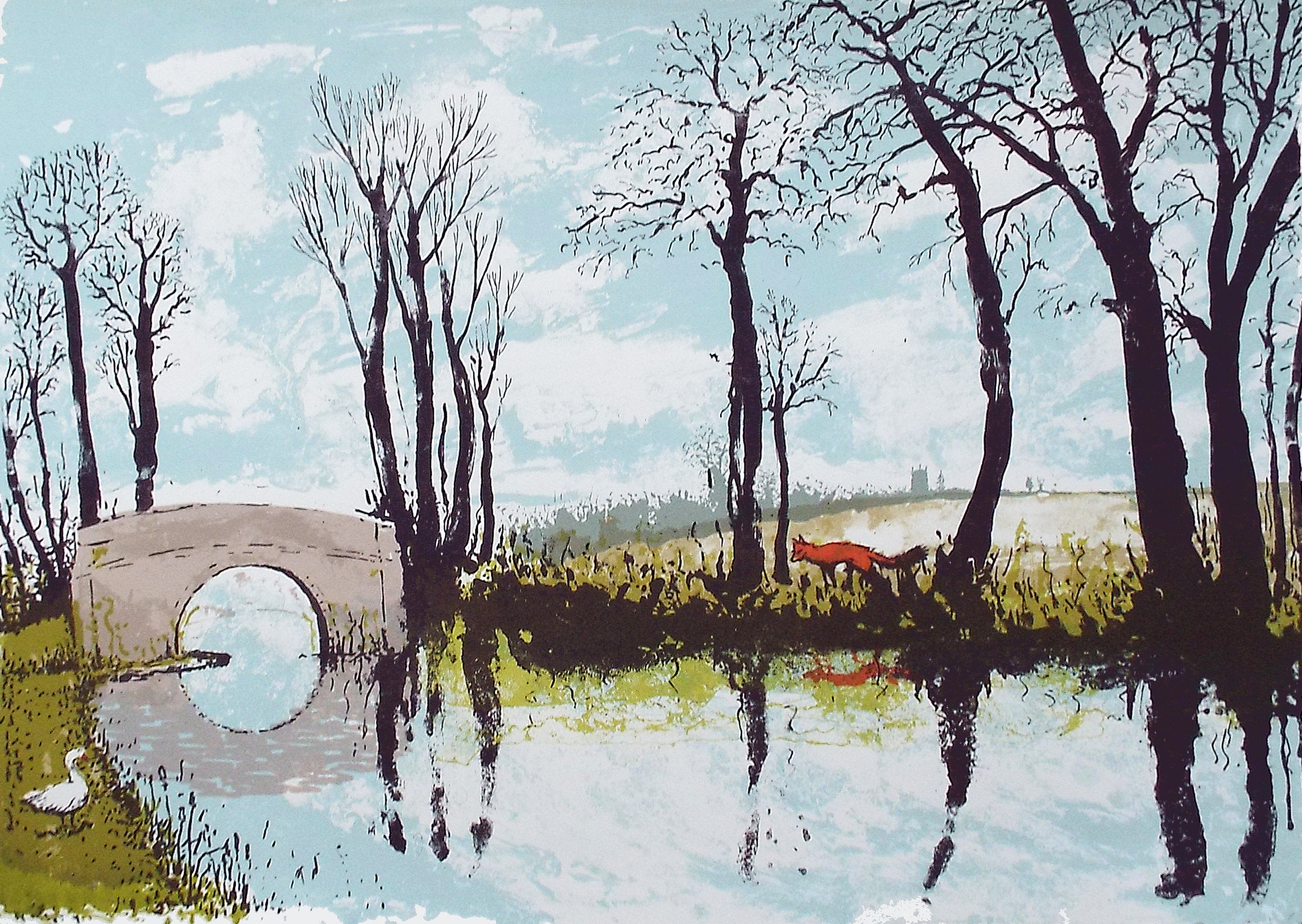 Tim Southall, The Fox and Goose, Wychwood Art
