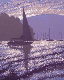 Gordon Hunt Dawn Departure Wychwood art