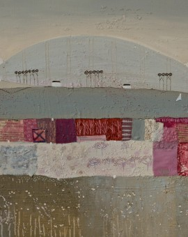Jessica Leighton Fields of Pinks and Sail Boats Wychwood Art