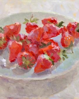 Lynne Cartlidge Wychwood Art Strawberries 1