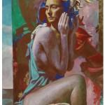 Daniel Ludwig Study for Flora Wychwood art