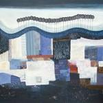 Jessica Leighton Undulating Fields 80 x 100cm Wychwood Art