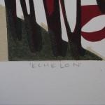 Lisa Takahashi, Echelon, Limited Edition Print, Bicycle Art 6