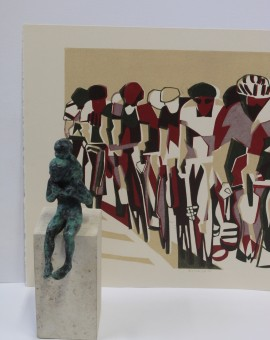 Lisa Takahashi, Echelon, Limited Edition Print, Bicycle Art 9