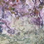 Mariusz Kaldowski, Cherry Tree, Original Painting, Landscape Art 4