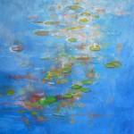 Phyliss Wolff Just Waterlillies Wychwood art