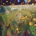 Elaine Kazimierczuk Buttercup meadow with sorrel Wychwood Art