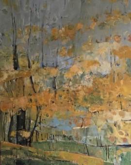 Elaine Kazimierczuk Copper Beeches, Wytham Woods Wychwood Art
