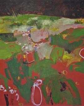 Elaine Kazimierczuk Flower Meadow Wychwood Art