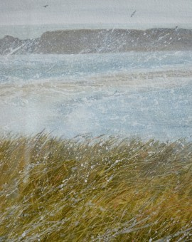 Judith Yarrow Shetland- St Ninian's Isle Wychwood art