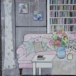Julia Adams Interior Spaces- Flower Power Wychwood Art
