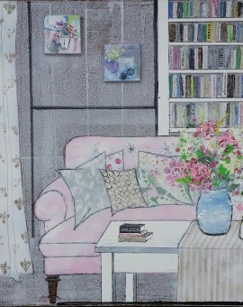 Julia Adams Interior Spaces- Flower Power Wychwood Art