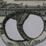 Justine Smith, Gunshot, Dollar Art, Surrealist Art, Political Art, Conceptual Art.JPG 2