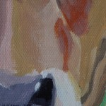 Margaret Crutchley, Cow, Original Painting, Animal Art 2