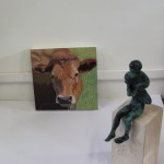 Margaret Crutchley,C= Cow Painting