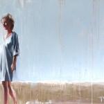 richardtwoseWychwoodart Woman in a Blue Dress