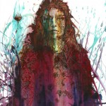 Carne Griffiths Falling Flowers Wychwood Art