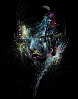 Carne Griffiths Fly me to the Moon Wychwood Art