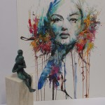 Carne Griffiths, Limited Edition Print, Contemporary Figurative Art, Abstract Portraiture
