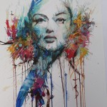 Carne Griffiths, Limited Edition Print, Contemporary Figurative Art, Abstract Portraiture 2