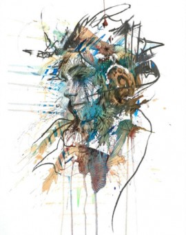 Carne Griffiths Tribal Gathering Wychwood Art