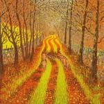 Mark A Pearce Autumn Lane wychwood art