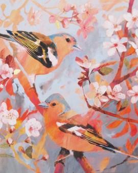 Carolyn Carter Chaffinches Wychwood Art