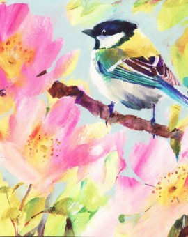Carolyn Carter Great-tit Wychwood Art