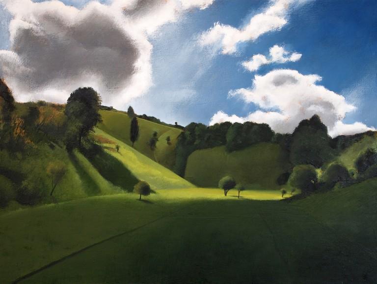 tim woodcock-jones pegsdon Wychwood art