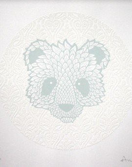 Andy Wilx White Diamond Polar Bear Wychwood Art