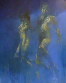 Bill Bate. Bronzino Blue ll. Wychwood jpeg