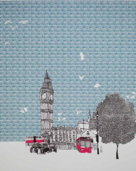 Clare Halifax Big Ben Wychwood Art
