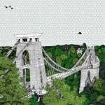 Clare Halifax Crossing Clifton Bridge Wychwood Art