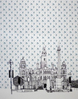 Clare Halifax Glasgow St George Square Wychwood Art