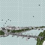 Clare Halifax Hungerford Bridge Wychwood Art