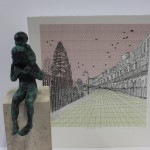 Clare Halifax, limited edition print, cityscape art