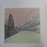 Clare Halifax, limited edition print, cityscape art 2
