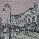 Clare Halifax, limited edition print, cityscape art 6